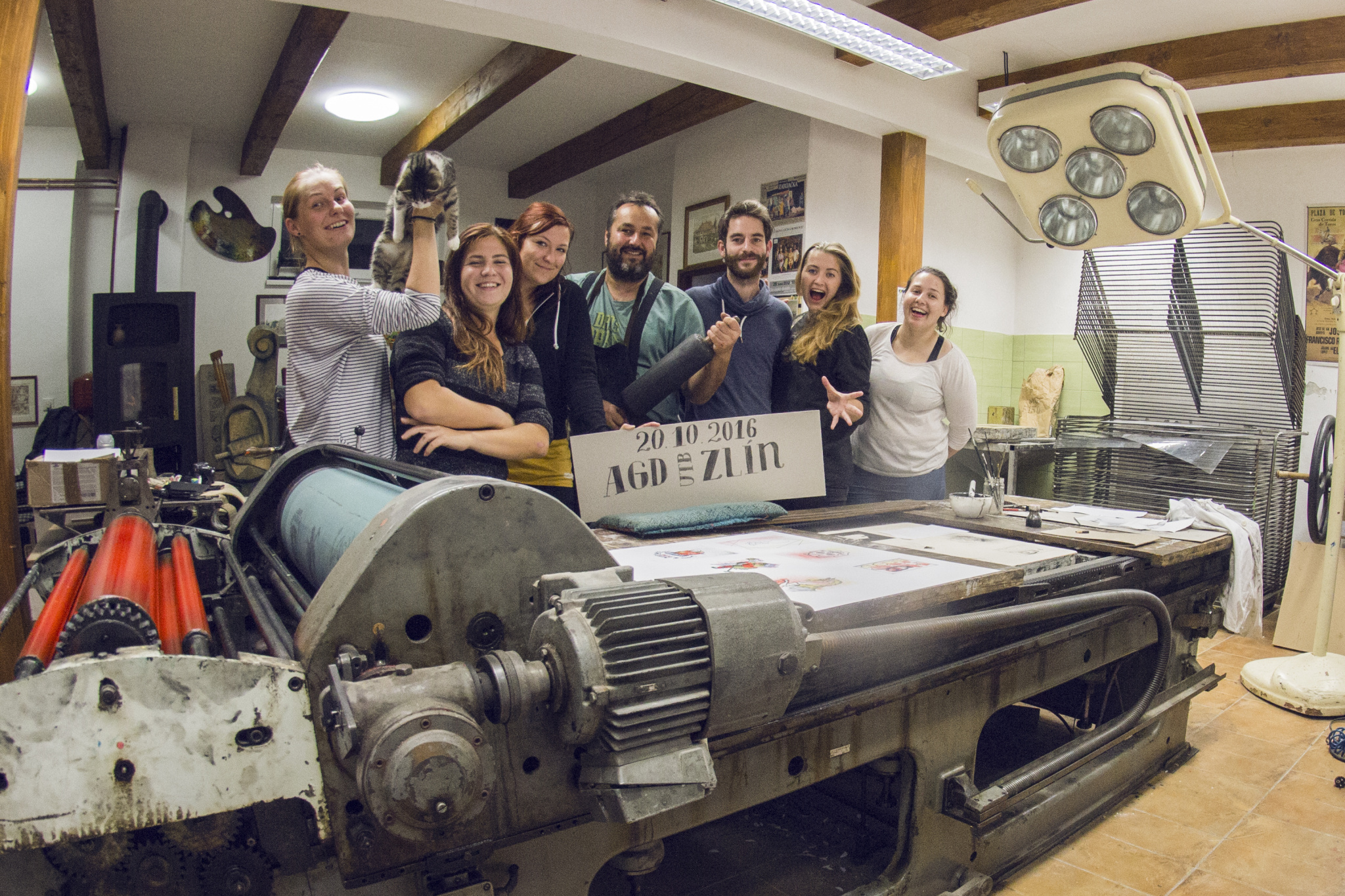 Workshop litografie s Františkem Pavlicou