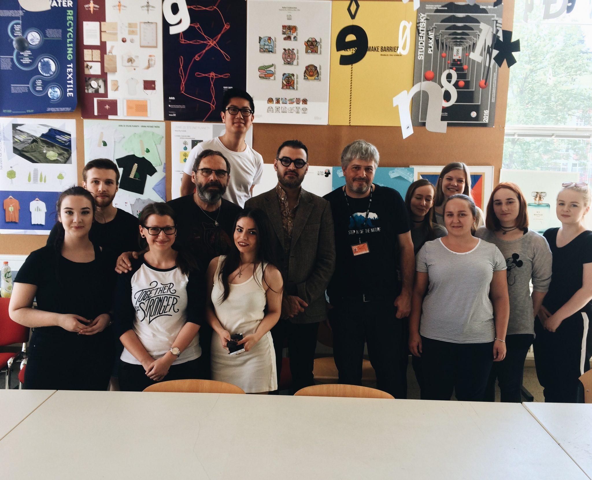 Návštěva grafického designéra Mehdi Saeediho